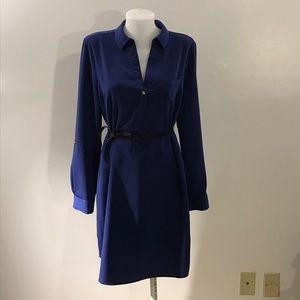 The Limited Royal Blue Long Sleeve Shirt Sz Large